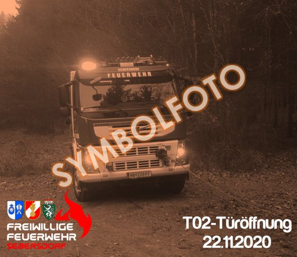 T02-Türöffnung vom 22.11.2020  |  © Feuerwehr Sebersdorf (2020)