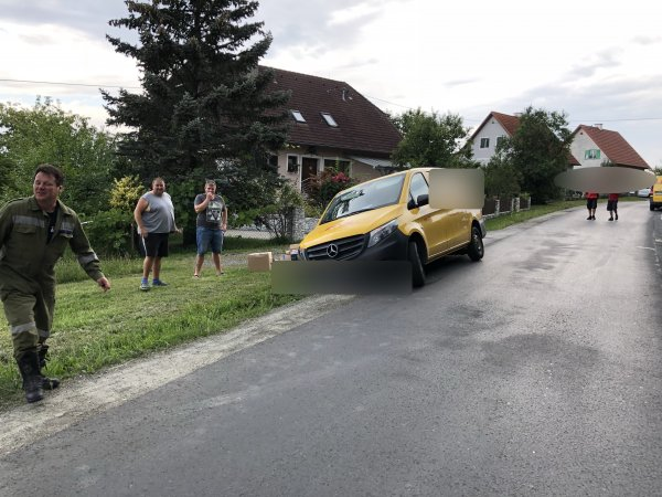 T03-VU-Berg.-Öl vom 21.07.2018  |  © Feuerwehr Sebersdorf (2018)