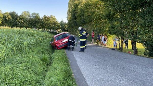 T03-VU-Berg.-Öl vom 04.09.2021  |  © Feuerwehr Sebersdorf (2021)