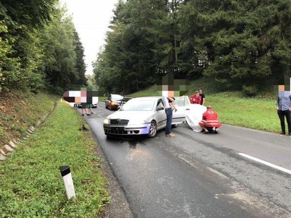 T03-VU-Berg.-Öl vom 25.08.2018  |  © Feuerwehr Sebersdorf (2018)