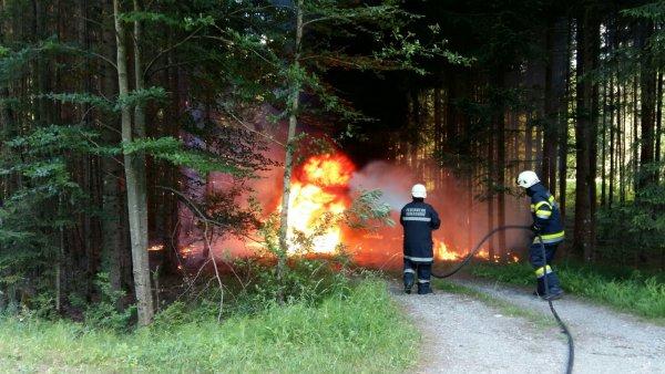 B08-Fahrzeug vom 18.06.2017  |  © Feuerwehr Sebersdorf (2017)