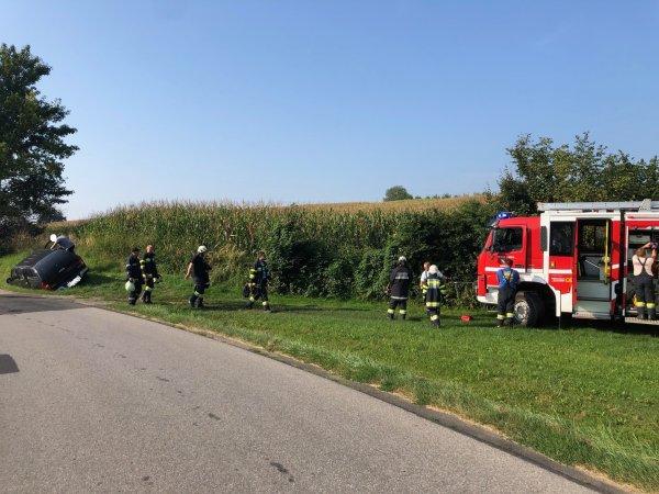 T03-VU-Berg.-Öl vom 01.09.2019  |  © Feuerwehr Sebersdorf (2019)