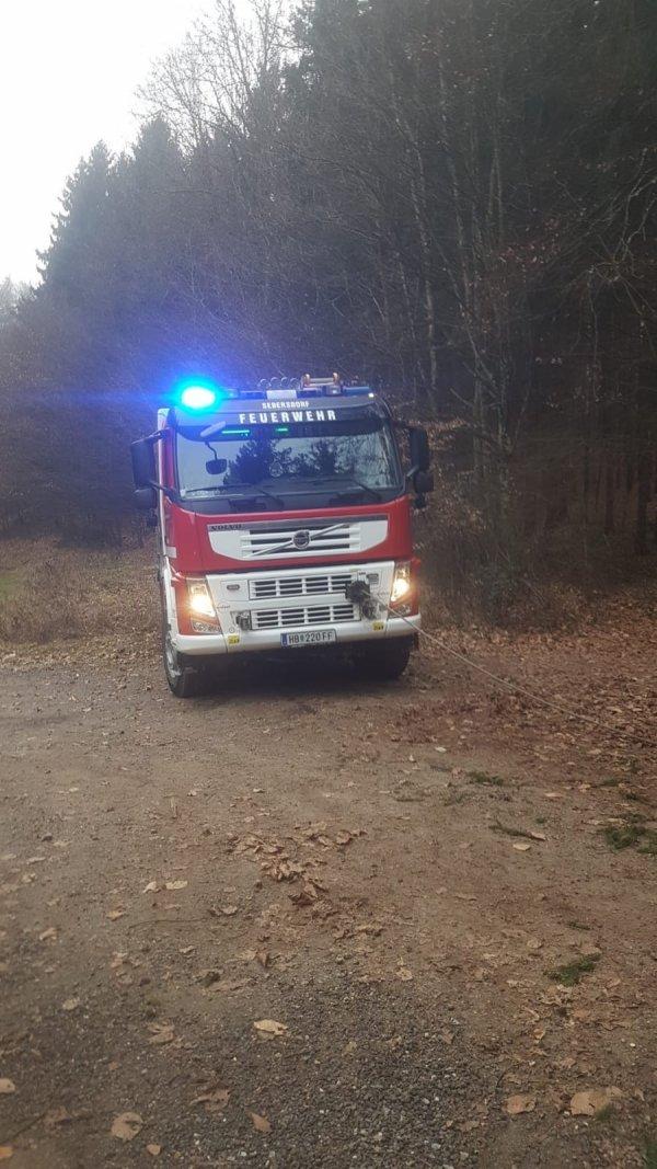 T03-VU-Berg.-Öl vom 15.01.2020  |  © Feuerwehr Sebersdorf (2020)