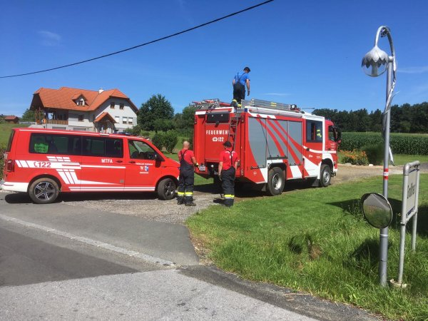 T07-Unwetter vom 02.07.2020     © Feuerwehr Sebersdorf (2020)