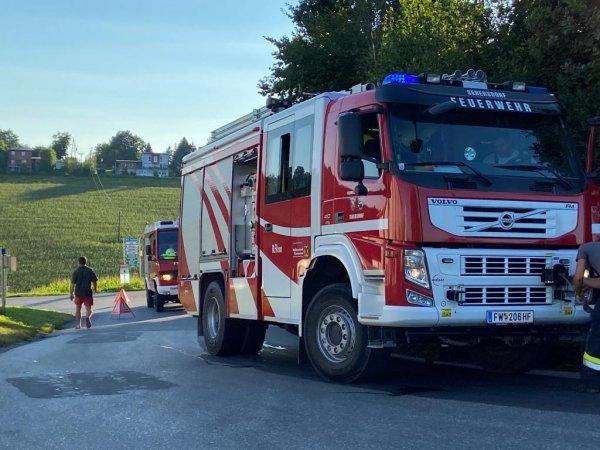 T03-VU-Berg.-Öl vom 21.08.2020  |  © Feuerwehr Sebersdorf (2020)