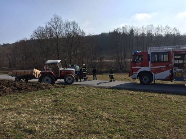 T03-VU-Berg.-Öl vom 24.03.2018  |  © Feuerwehr Sebersdorf (2018)