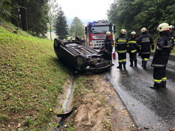 T03-VU-Berg.-Öl vom 02.08.2018  |  © Feuerwehr Sebersdorf (2018)