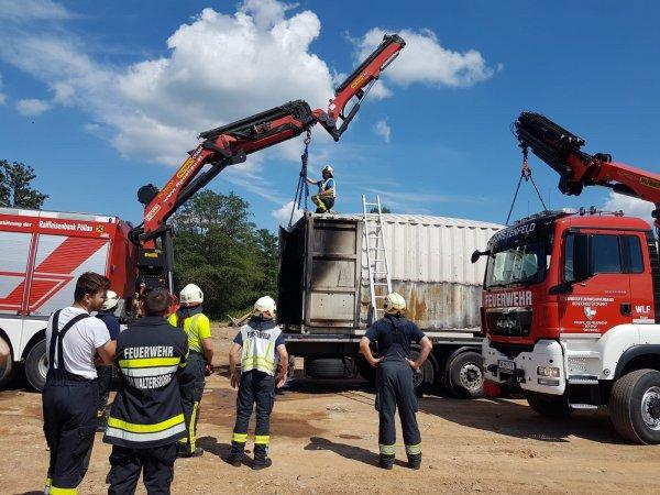 B08-Fahrzeug vom 26.07.2018  |  © Feuerwehr Sebersdorf (2018)